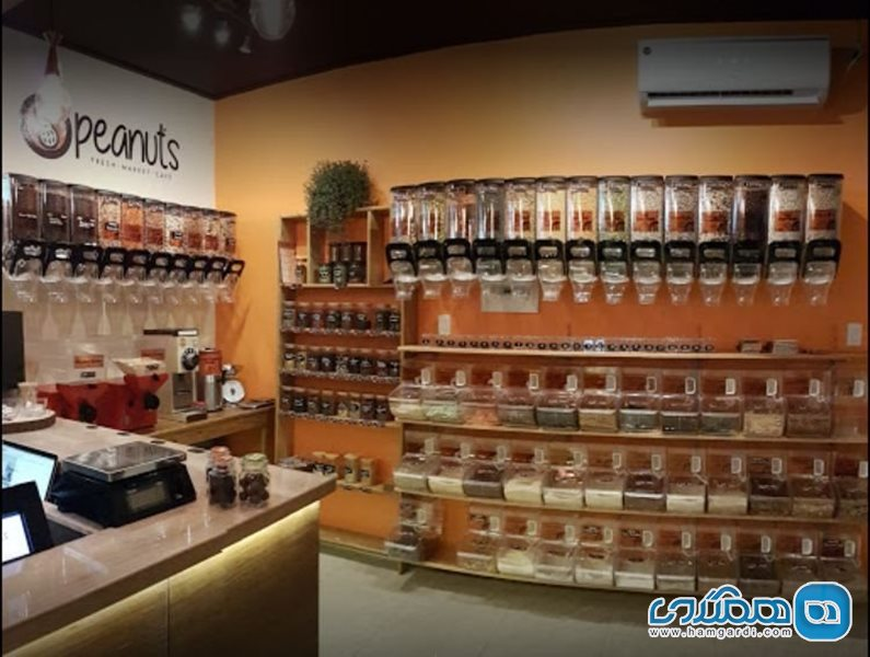 کافه پینات | Peanuts Fresh Market Cafe