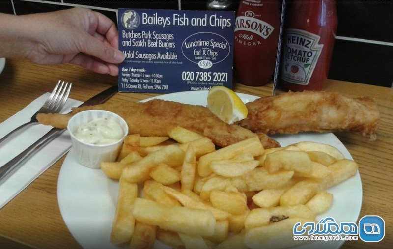 بیلی فیش اند چیپس Baileys Fish and Chips