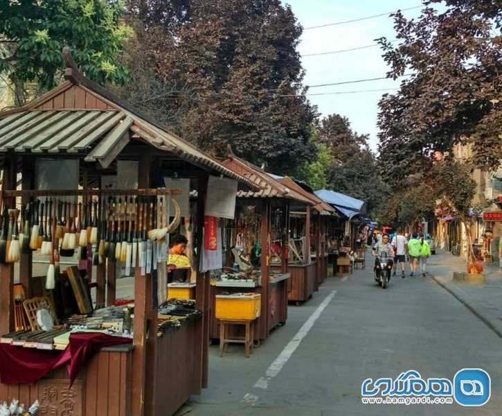 بازار Luomashi Walking Street