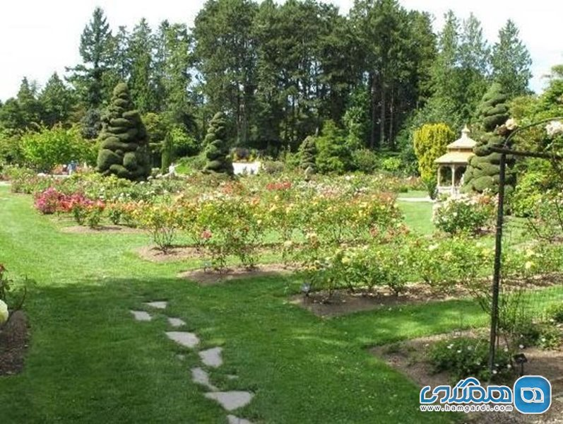 باغ وحش وودلند Woodland Park and Rose Garden