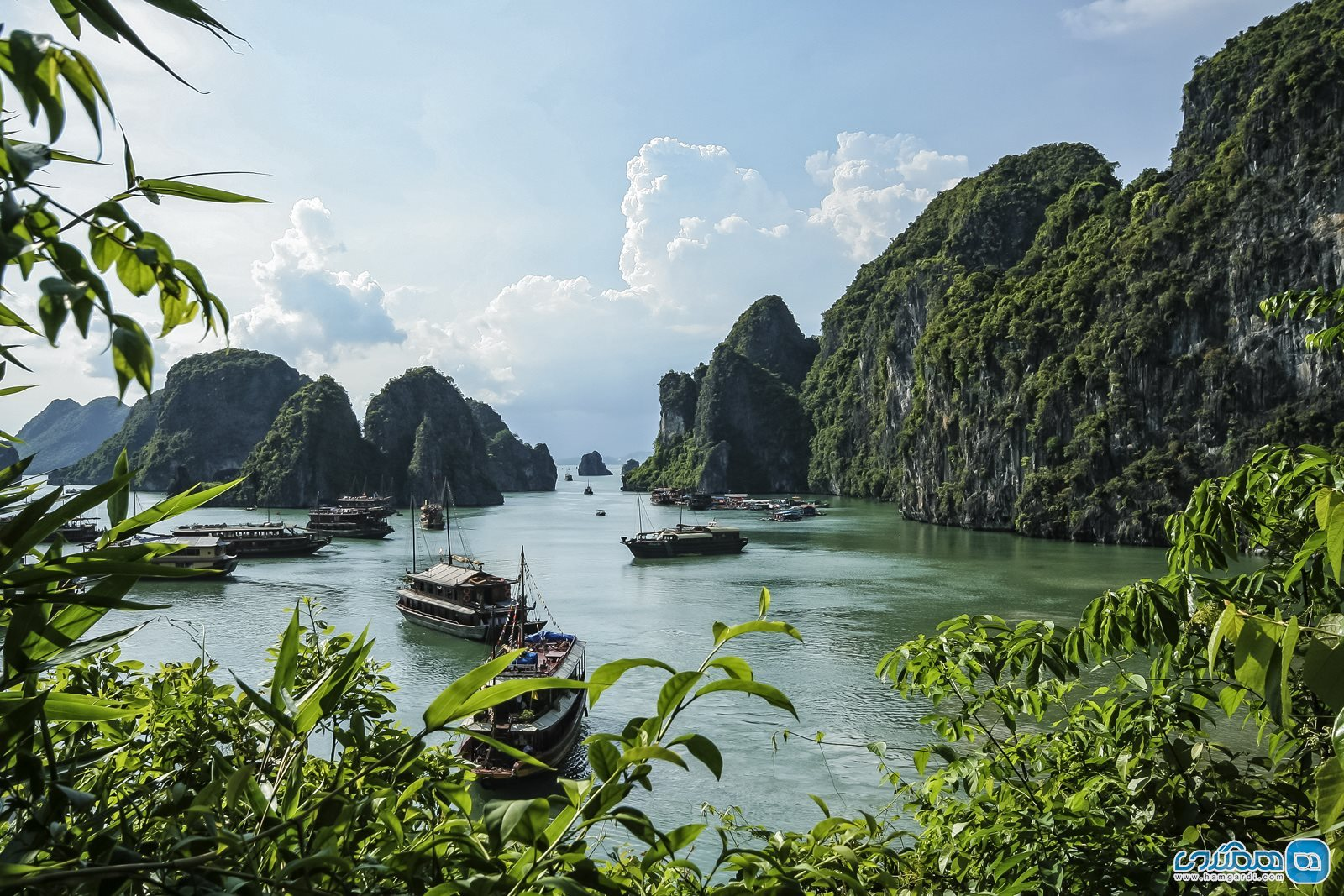 خلیج هالونگ ( Ha Long Bay )2